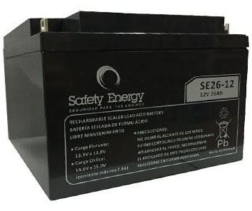 Batería Gel Safety Energy 12V 26Ah
