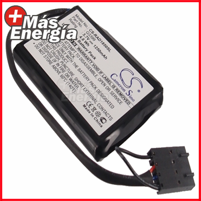 Batería p/ Dell PowerEdge 1850, 2800, 2850, 1250mAh