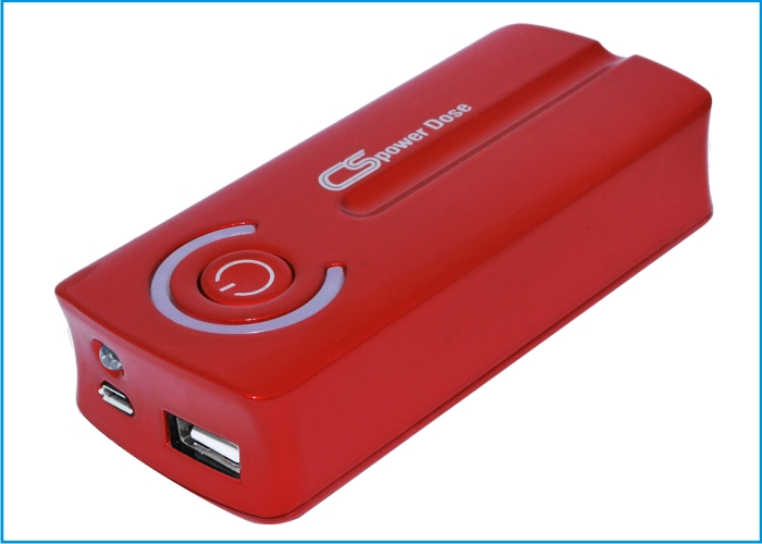 Power Bank Cameron Sino 5600mAh Rojo